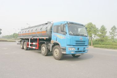 الصين 24.5 cbm Chemical Liquid Tanker Truck 6x4 For logistic Industries موزع