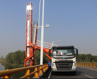 الصين Volvo Euro VI 450HP Under Bridge Inspection Truck، Bridge Inspection Equipment موزع